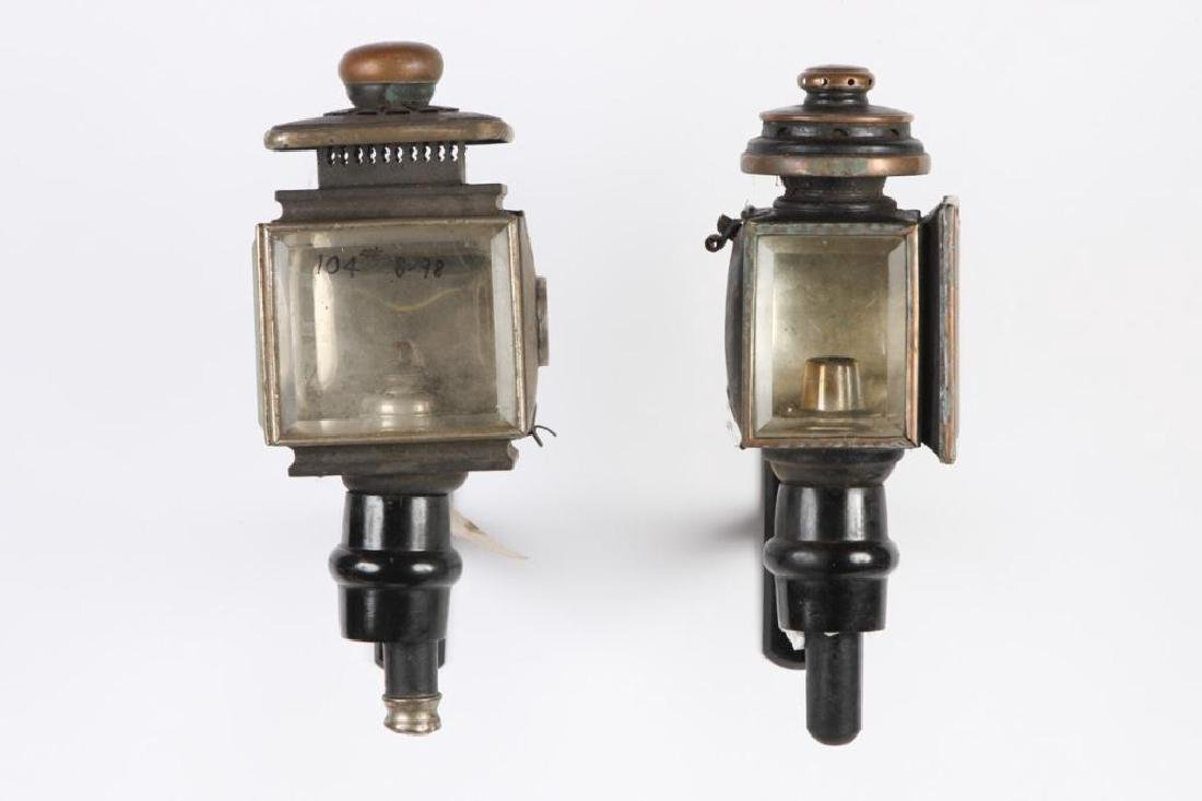 (4) CARRIAGE LAMPS - 4