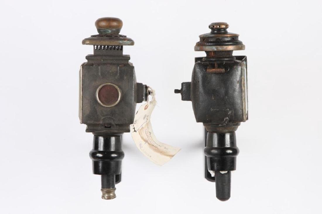 (4) CARRIAGE LAMPS - 5