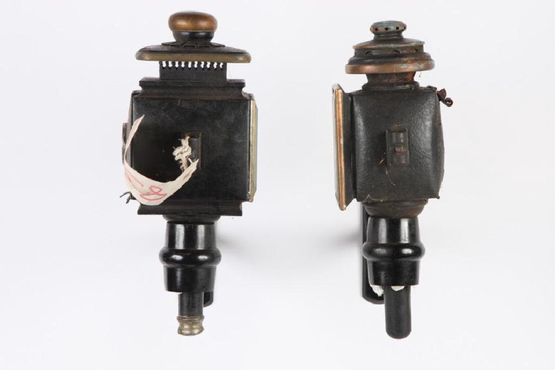 (4) CARRIAGE LAMPS - 6