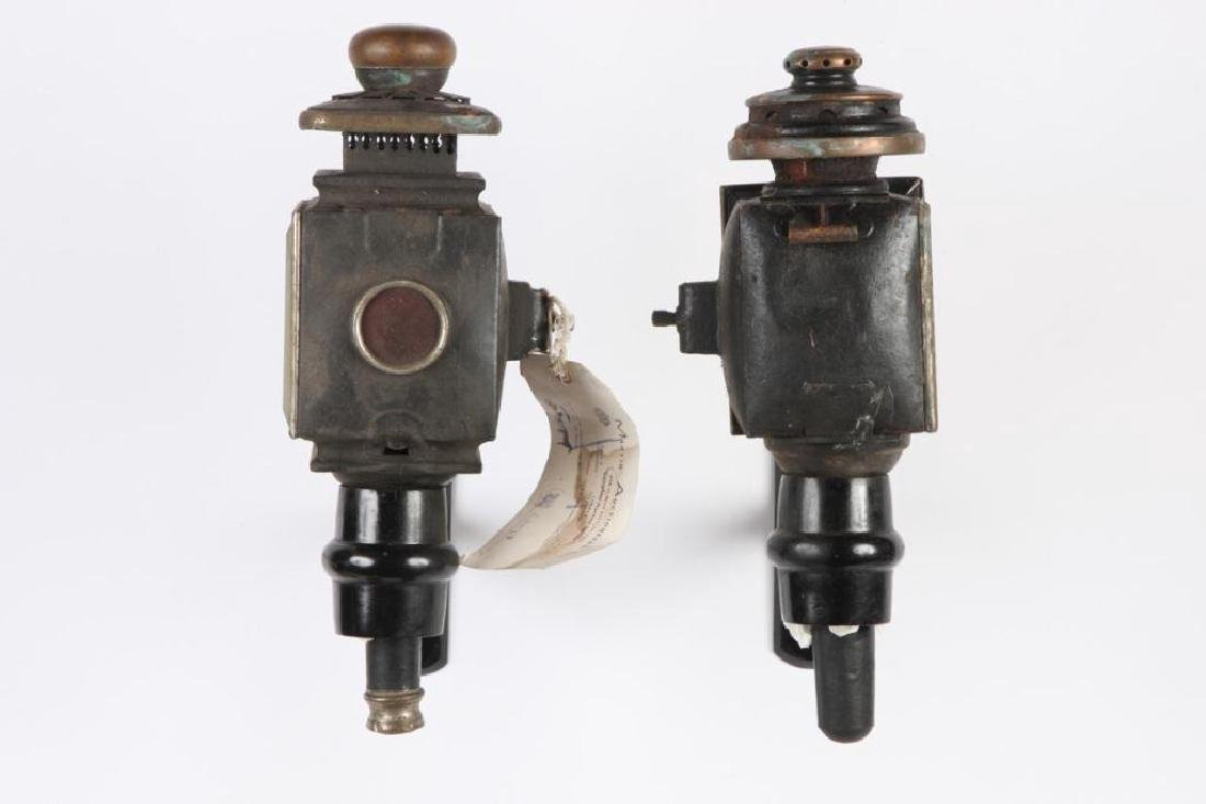 (4) CARRIAGE LAMPS - 7