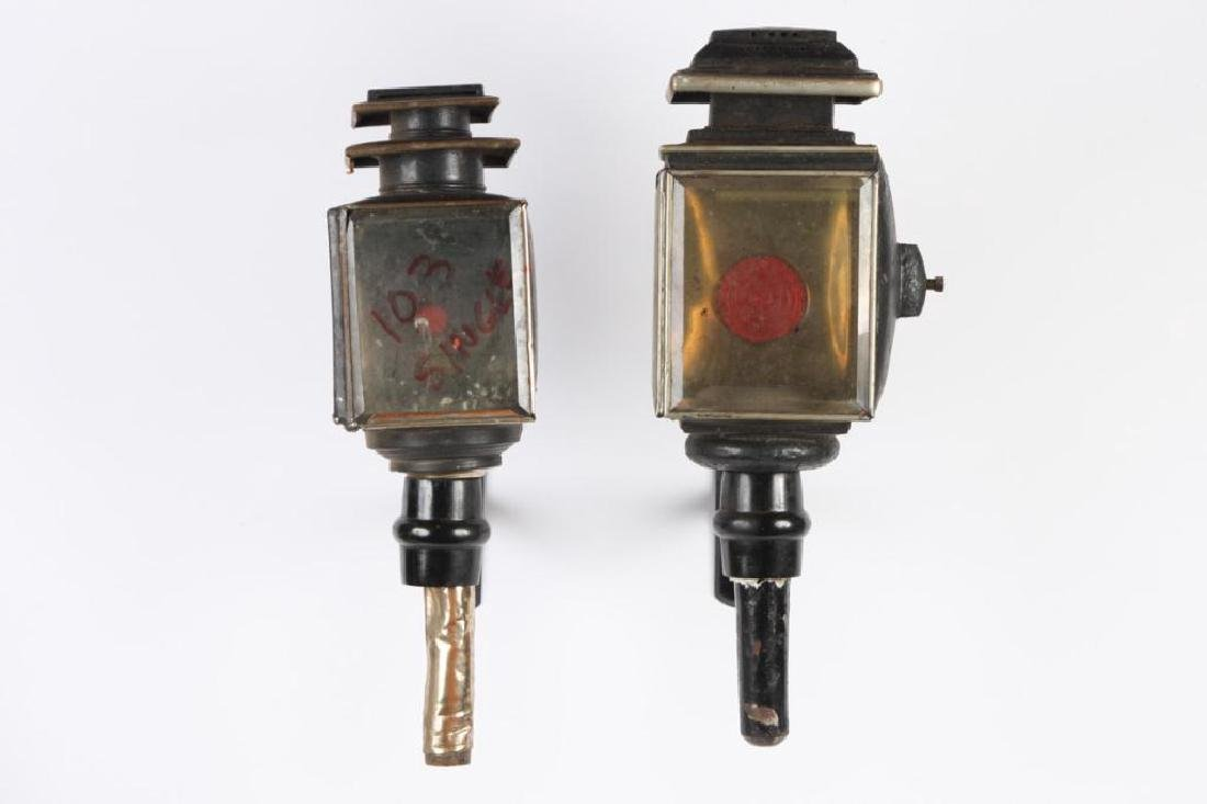 (4) CARRIAGE LAMPS - 8