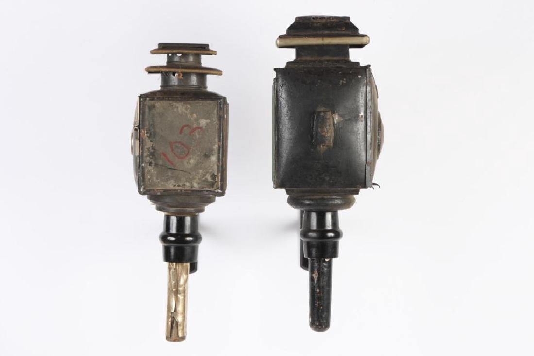 (4) CARRIAGE LAMPS - 9