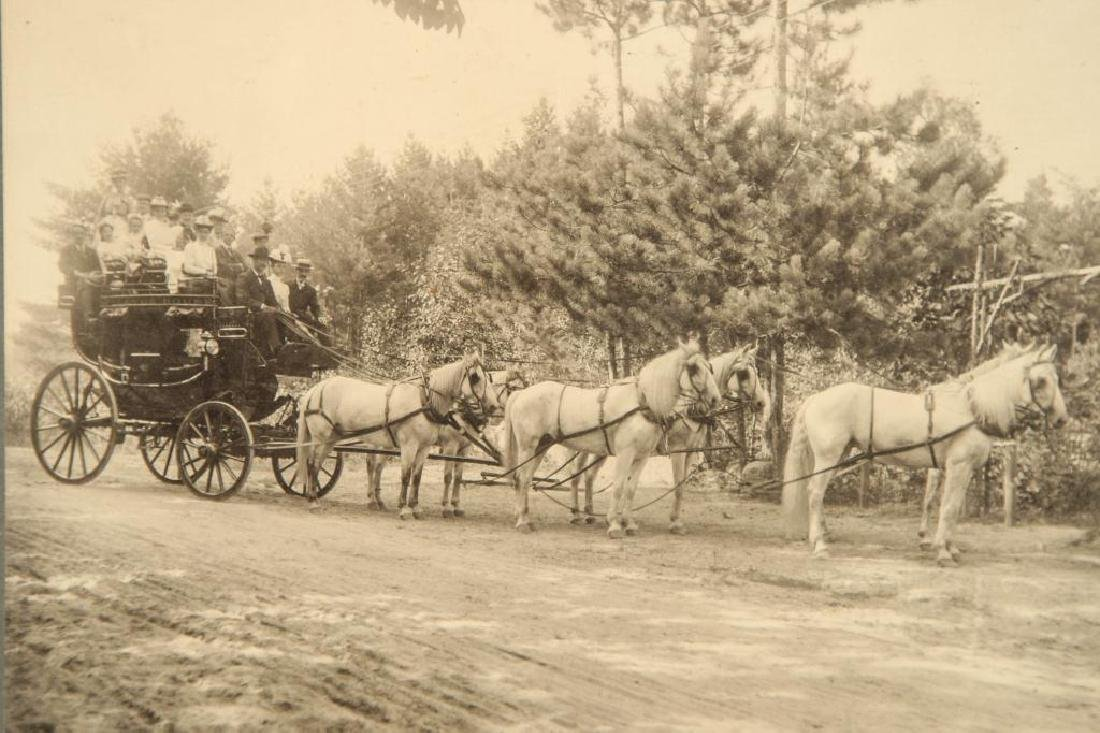 (2) EQUESTRIAN PHOTOGRAPHS EARLY (20th c) - 2