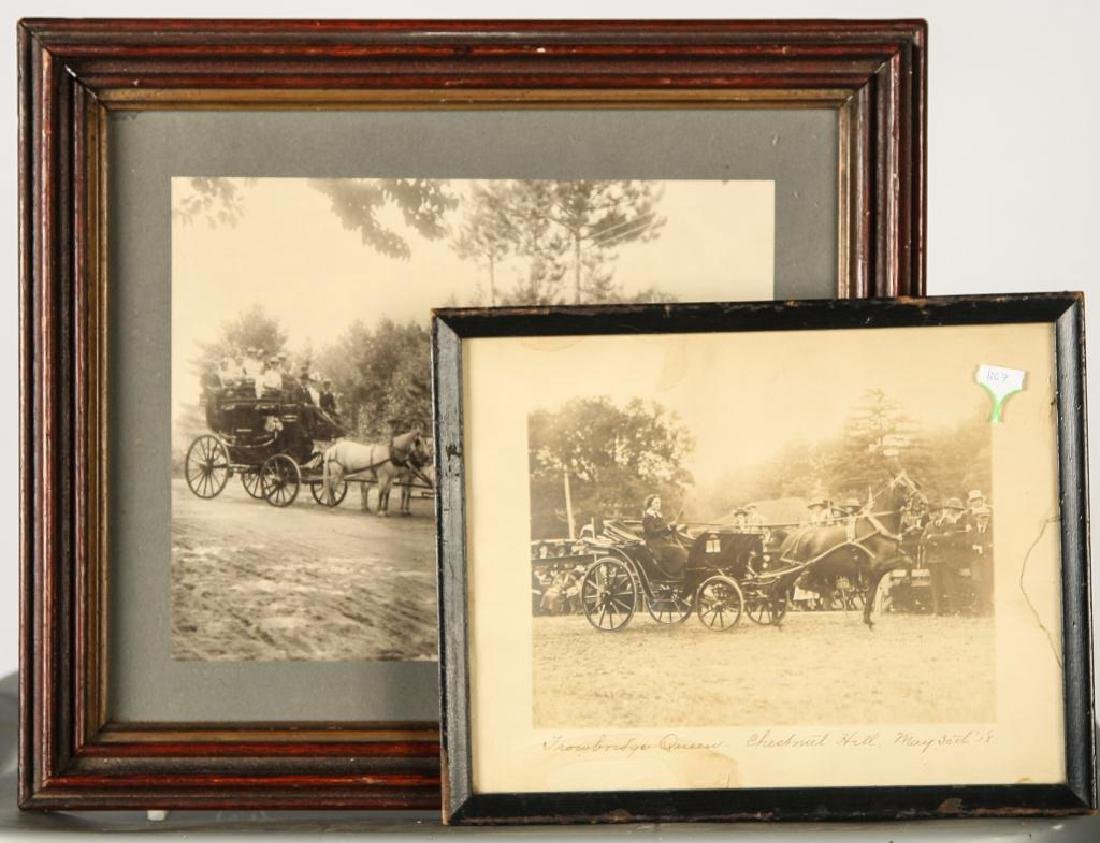 (2) EQUESTRIAN PHOTOGRAPHS EARLY (20th c) - 3