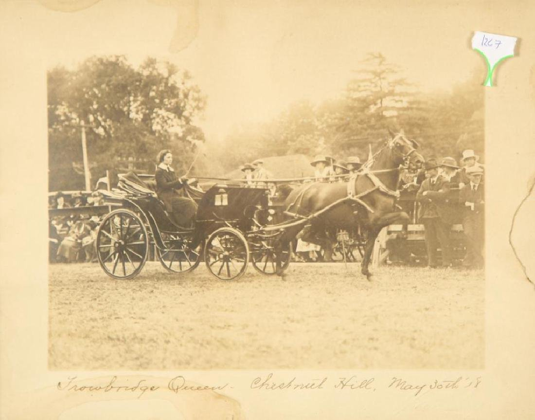 (2) EQUESTRIAN PHOTOGRAPHS EARLY (20th c) - 4