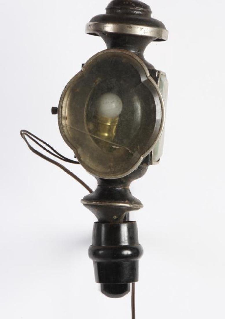(3) ELECTRIFIED CARRIAGE LAMPS - 2
