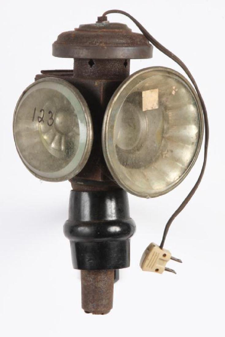 (3) ELECTRIFIED CARRIAGE LAMPS - 5