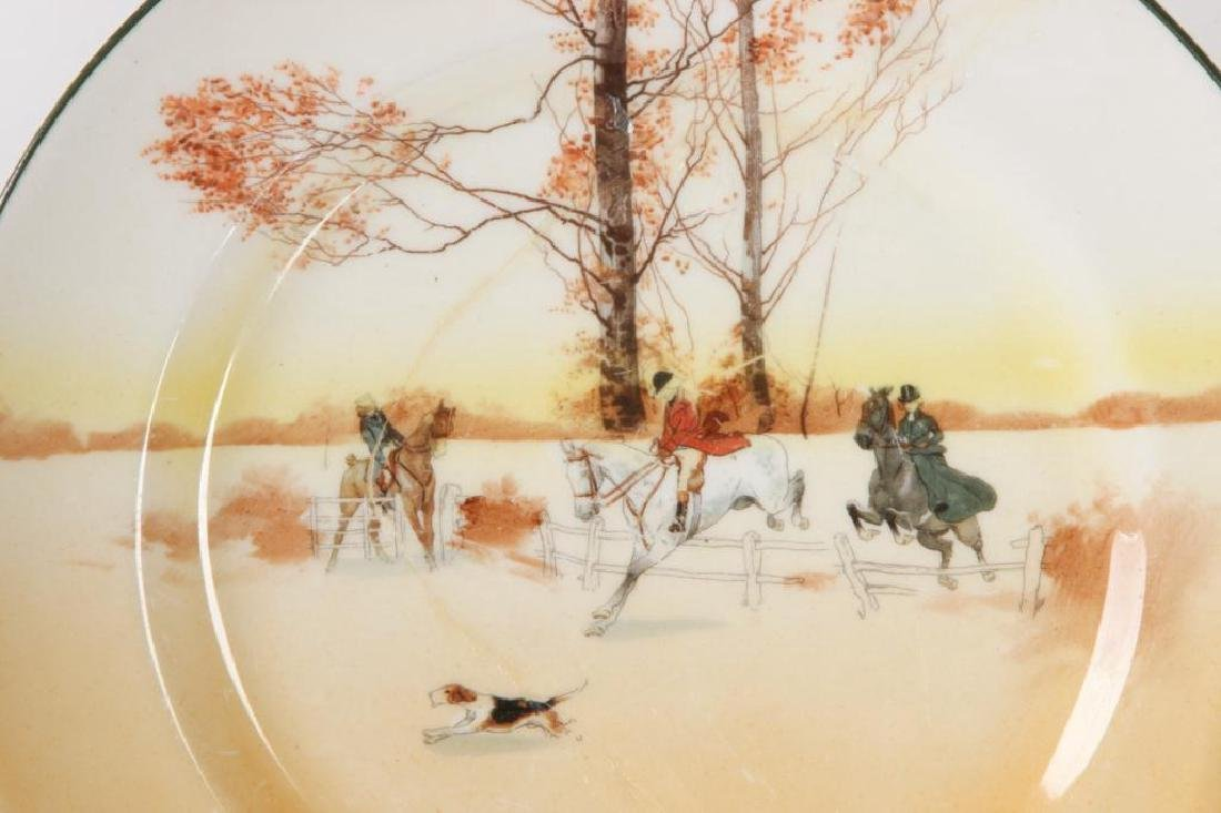 (14) ROYAL DOULTON PLATES WITH COACHING SCENES - 3