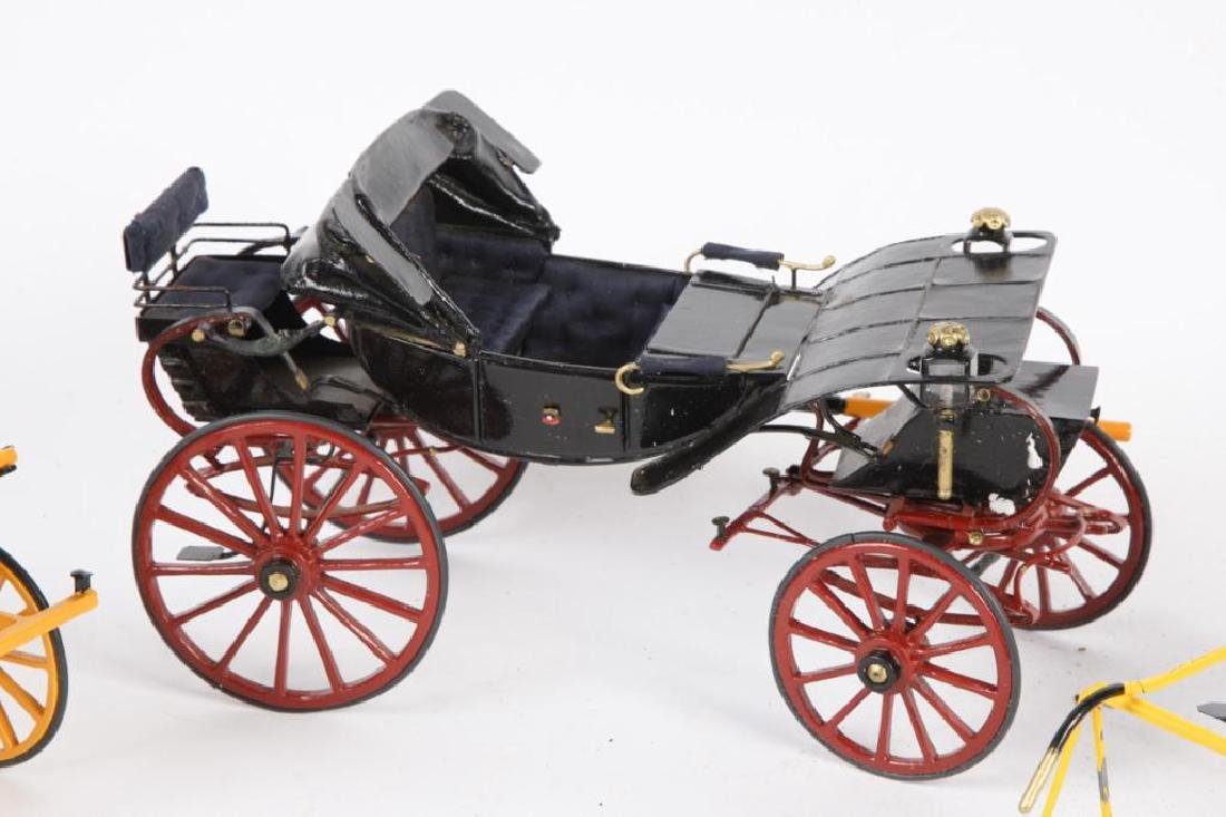 (3) MINIATURE CARRIAGES - 2