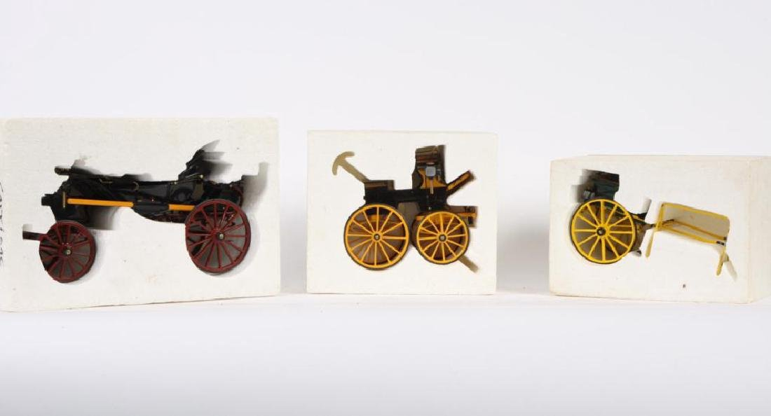 (3) MINIATURE CARRIAGES - 5