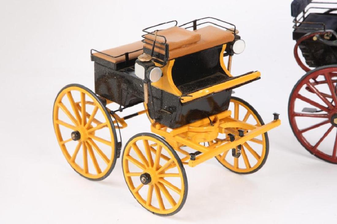 (3) MINIATURE CARRIAGES - 6