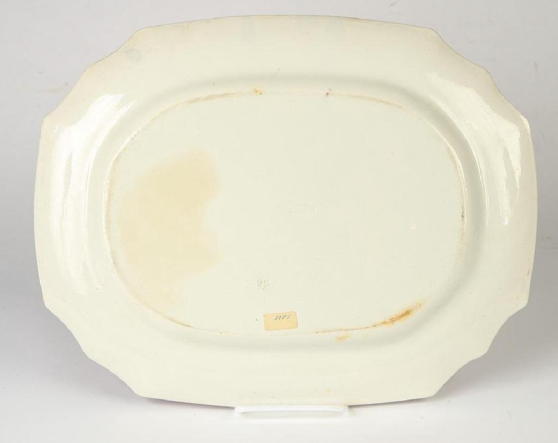RED SPATTERWARE TRAY - 10