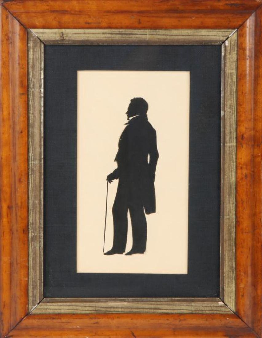 AUGUSTE EDOUART FULL LENGTH CUT PAPER SILHOUETTE