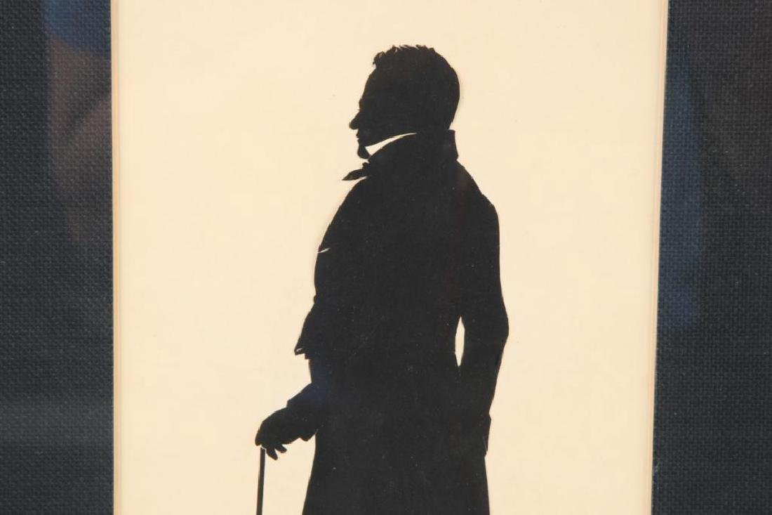 AUGUSTE EDOUART FULL LENGTH CUT PAPER SILHOUETTE - 4