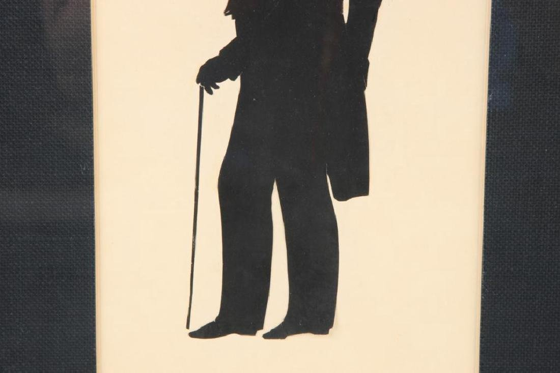 AUGUSTE EDOUART FULL LENGTH CUT PAPER SILHOUETTE - 5