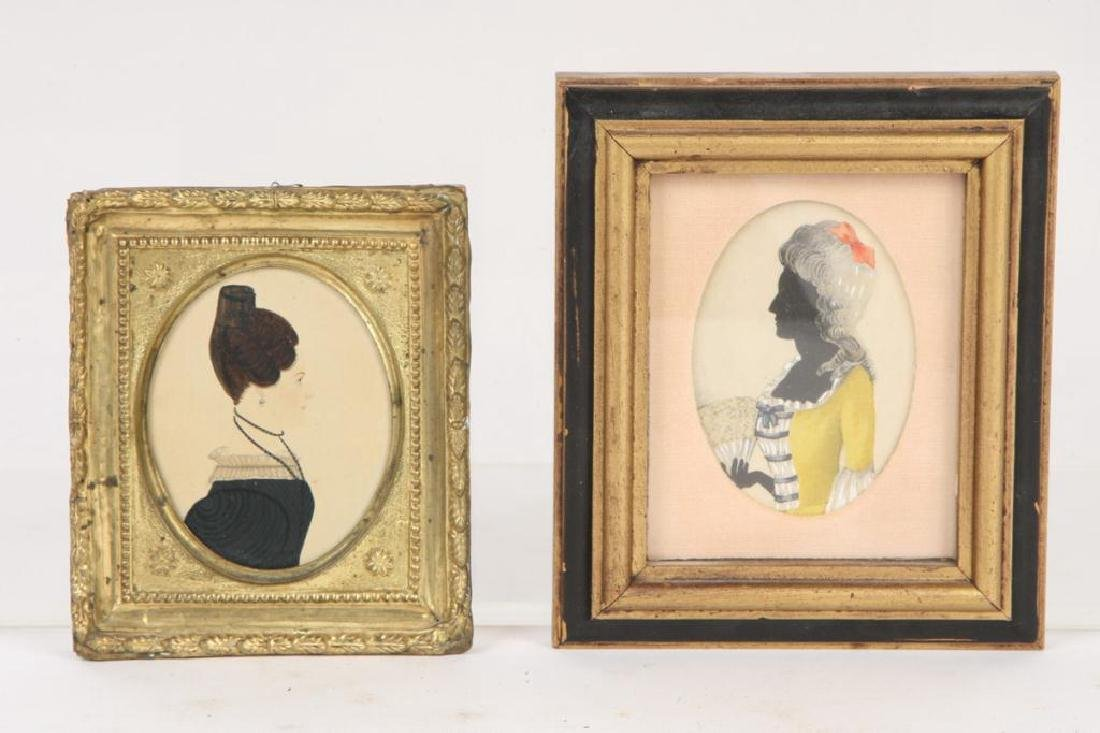 (2) PORTRAIT MINIATURES