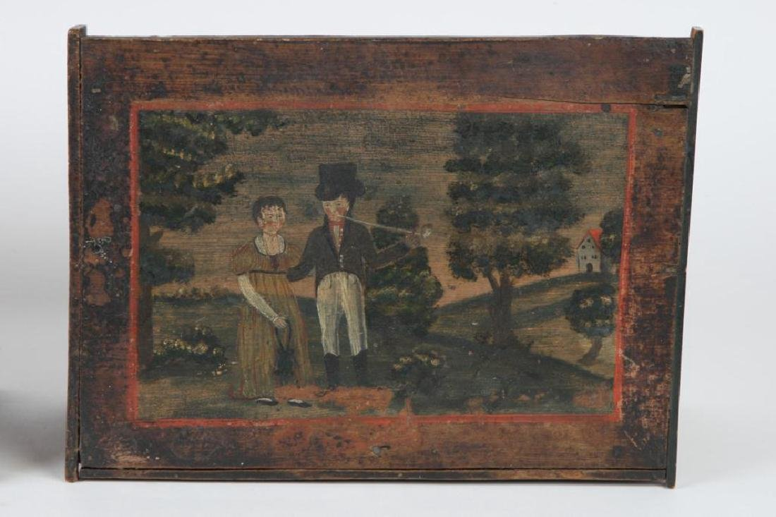 (2) PENNSYLVANIA DUTCH BRIDE'S BOXES - 3