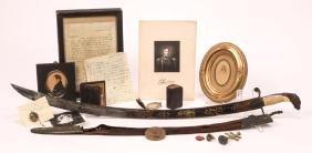 Captain William Bainbridge Sword, Letter & Effects