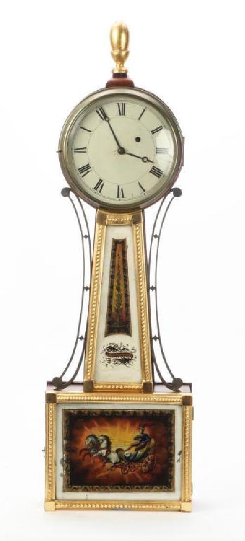 SIMON WILLARD PATENT BANJO CLOCK - 2