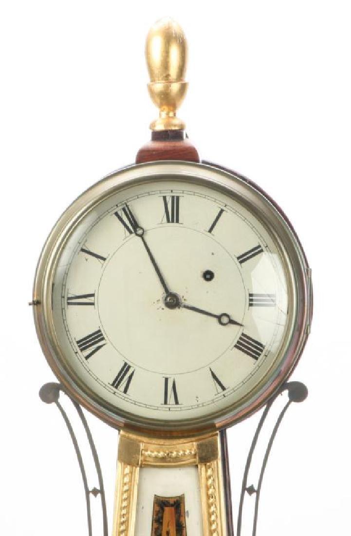 SIMON WILLARD PATENT BANJO CLOCK - 4