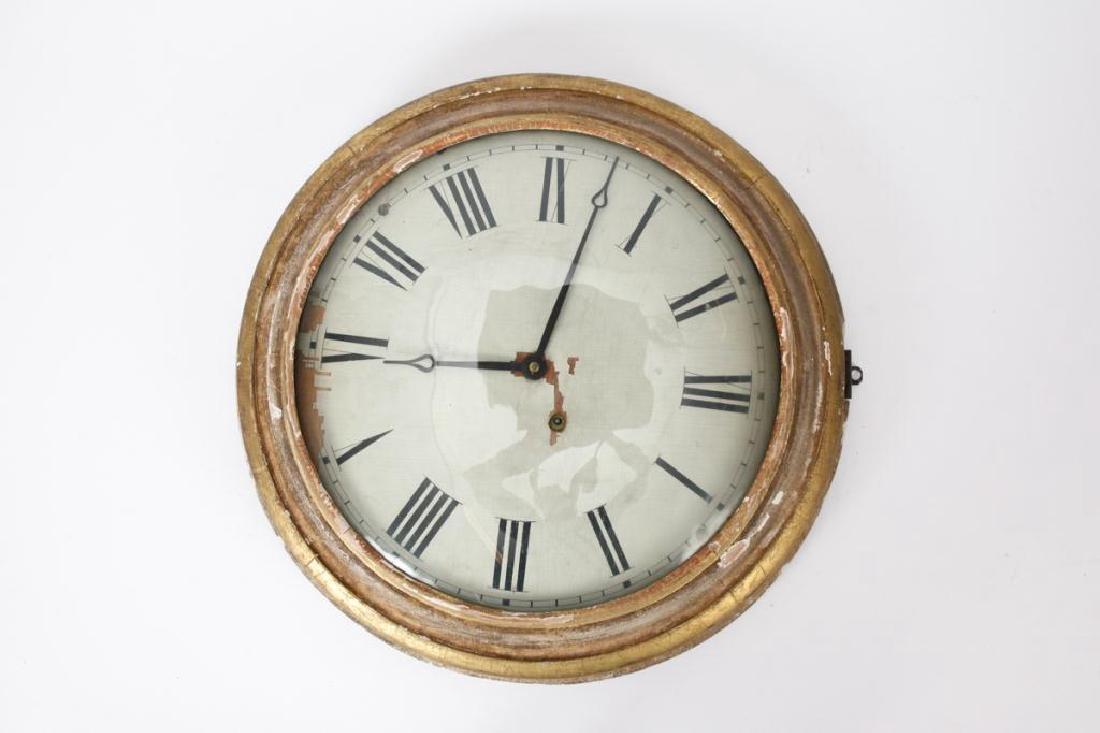 F. & A. INGRAHAM GALLERY CLOCK BRISTOL CT - 2