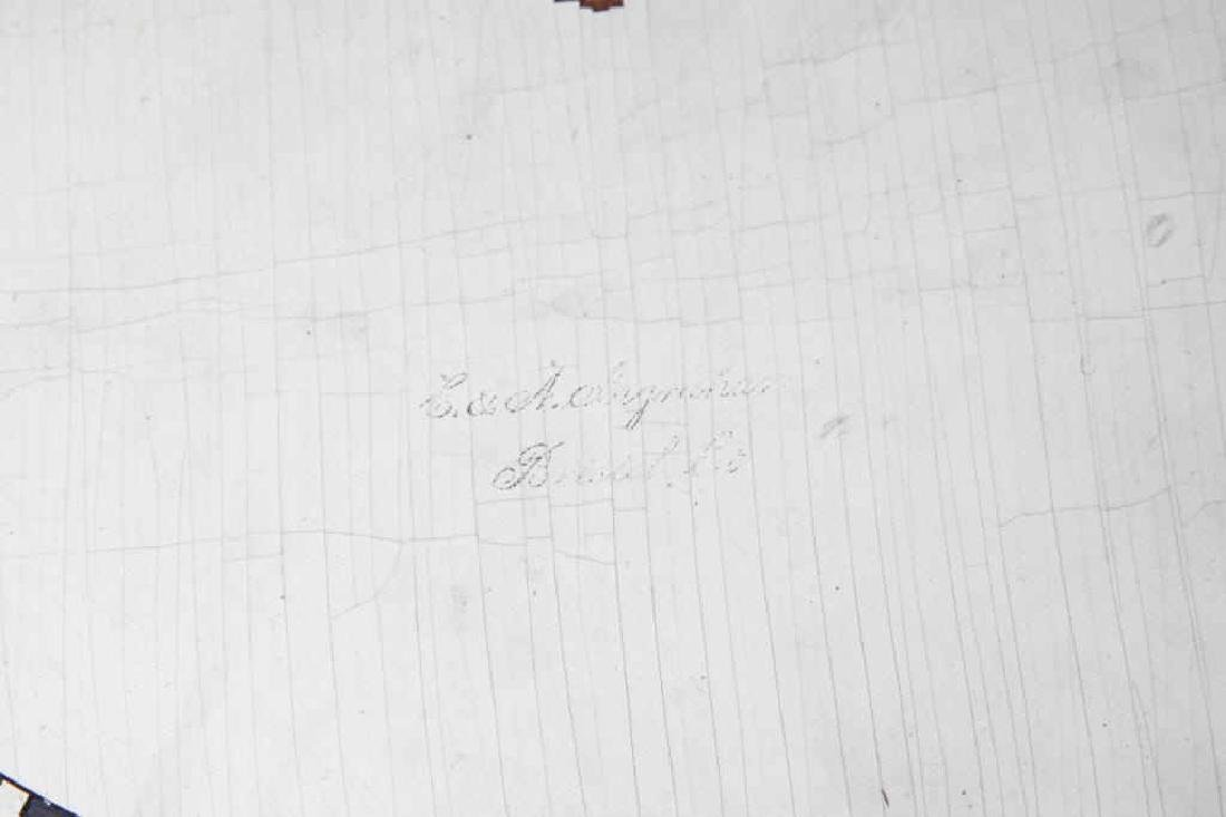 F. & A. INGRAHAM GALLERY CLOCK BRISTOL CT - 3
