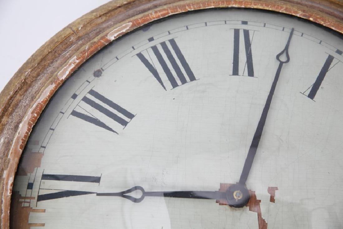 F. & A. INGRAHAM GALLERY CLOCK BRISTOL CT - 5
