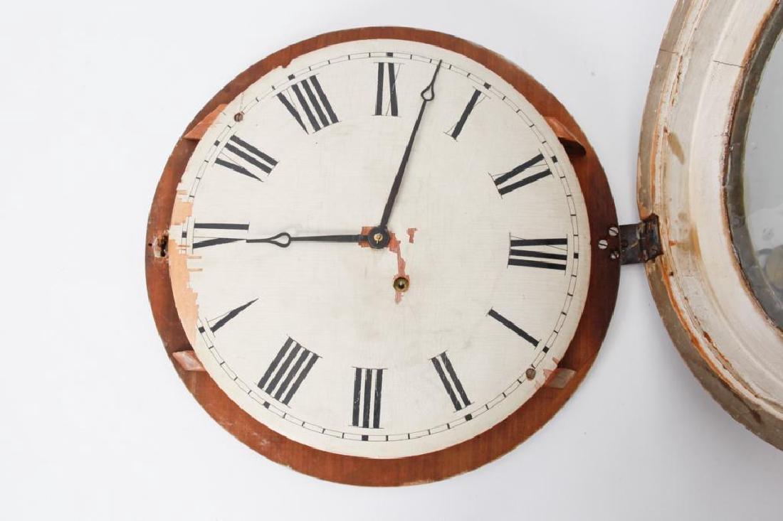 F. & A. INGRAHAM GALLERY CLOCK BRISTOL CT - 6
