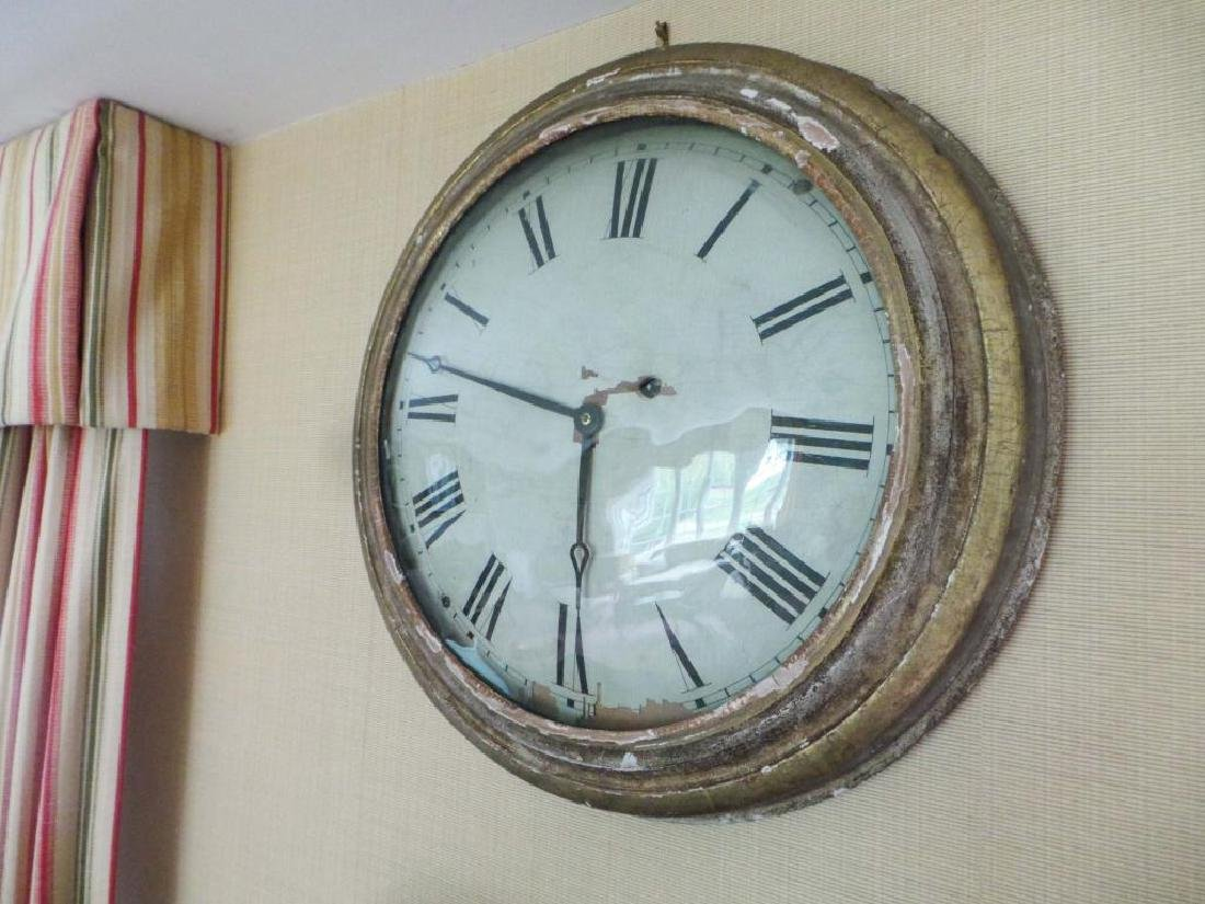 F. & A. INGRAHAM GALLERY CLOCK BRISTOL CT - 8