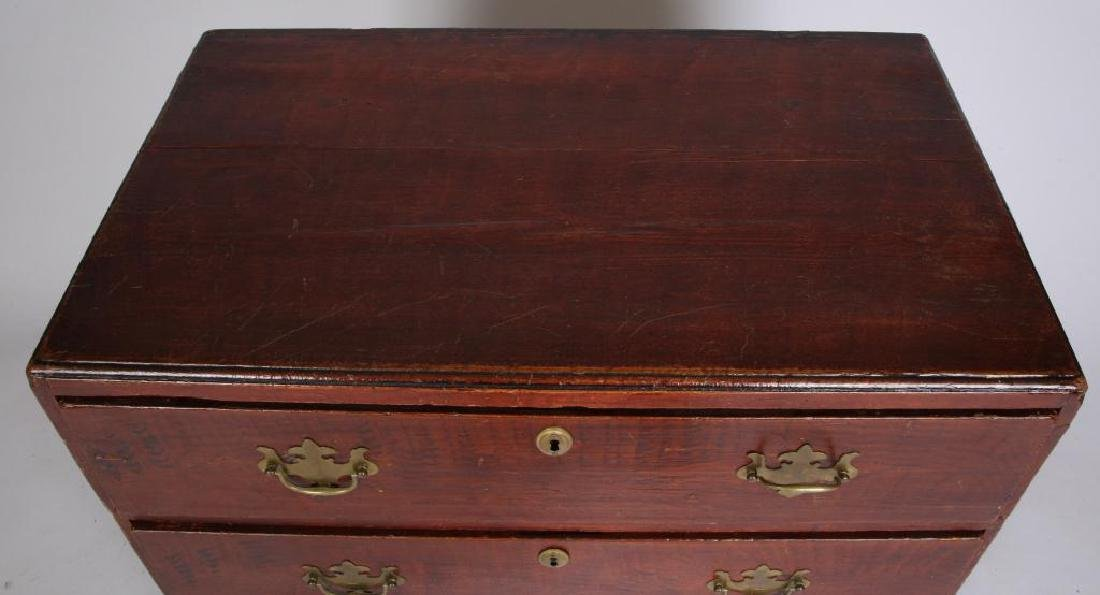AMERICAN GRAIN PAINTED (3) DRAWER CHEST - 4