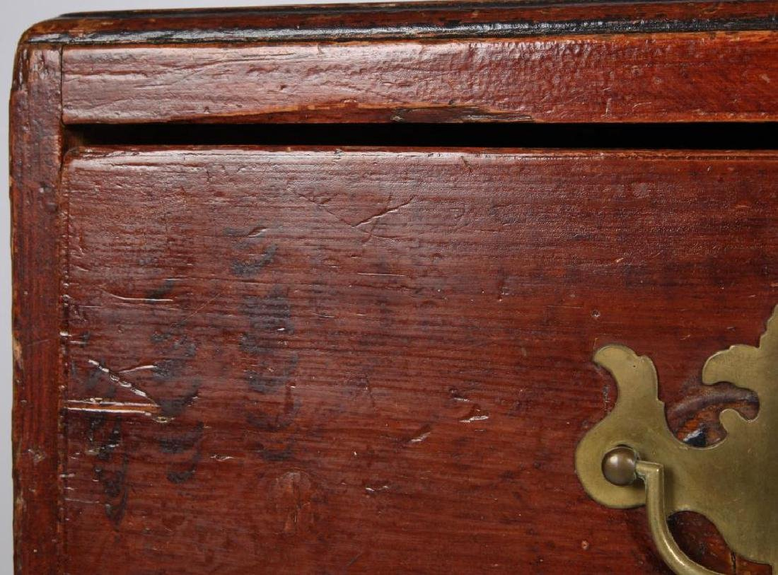 AMERICAN GRAIN PAINTED (3) DRAWER CHEST - 5