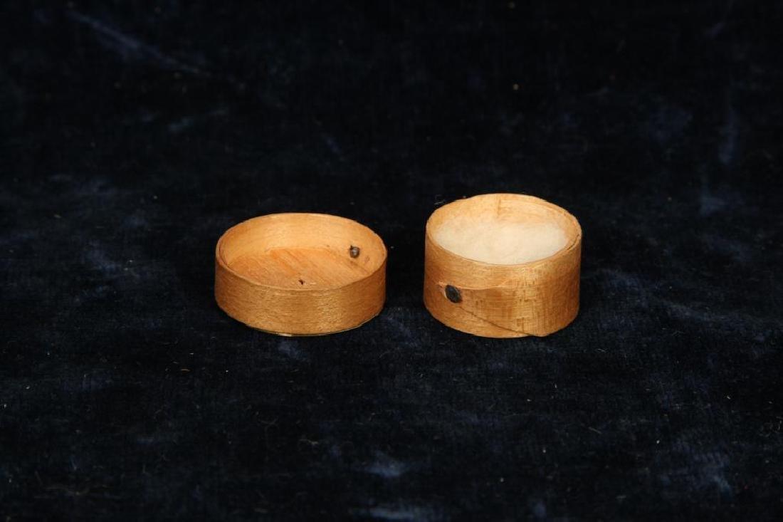MINIATURE PANTRY BOX DATED 1853 - 2