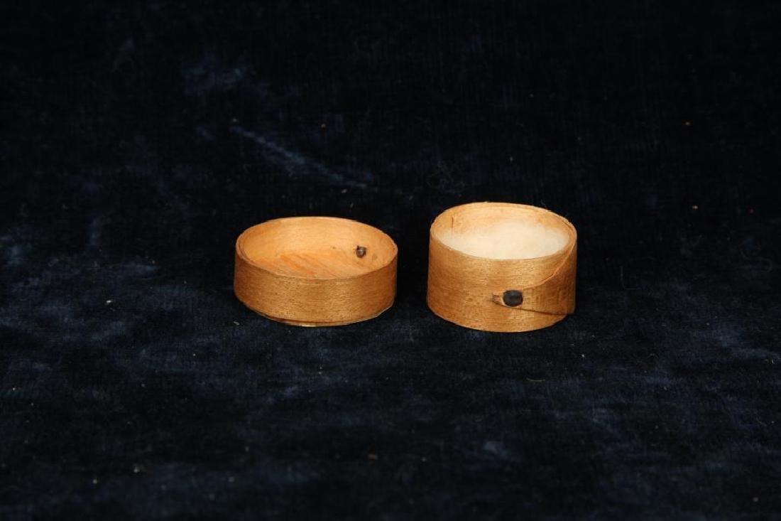 MINIATURE PANTRY BOX DATED 1853 - 4
