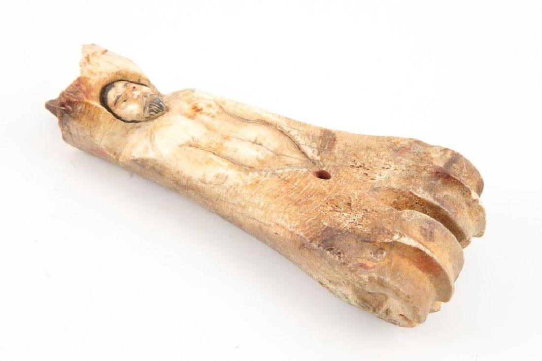 ANTIQUE CARVED BONE WHIMSY - 8