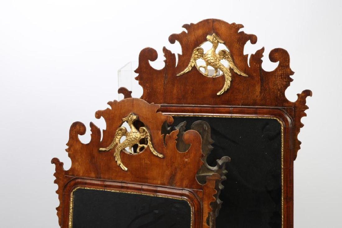PAIR OF ENGLISH CHIPPENDALE STYLE MIRRORS - 4