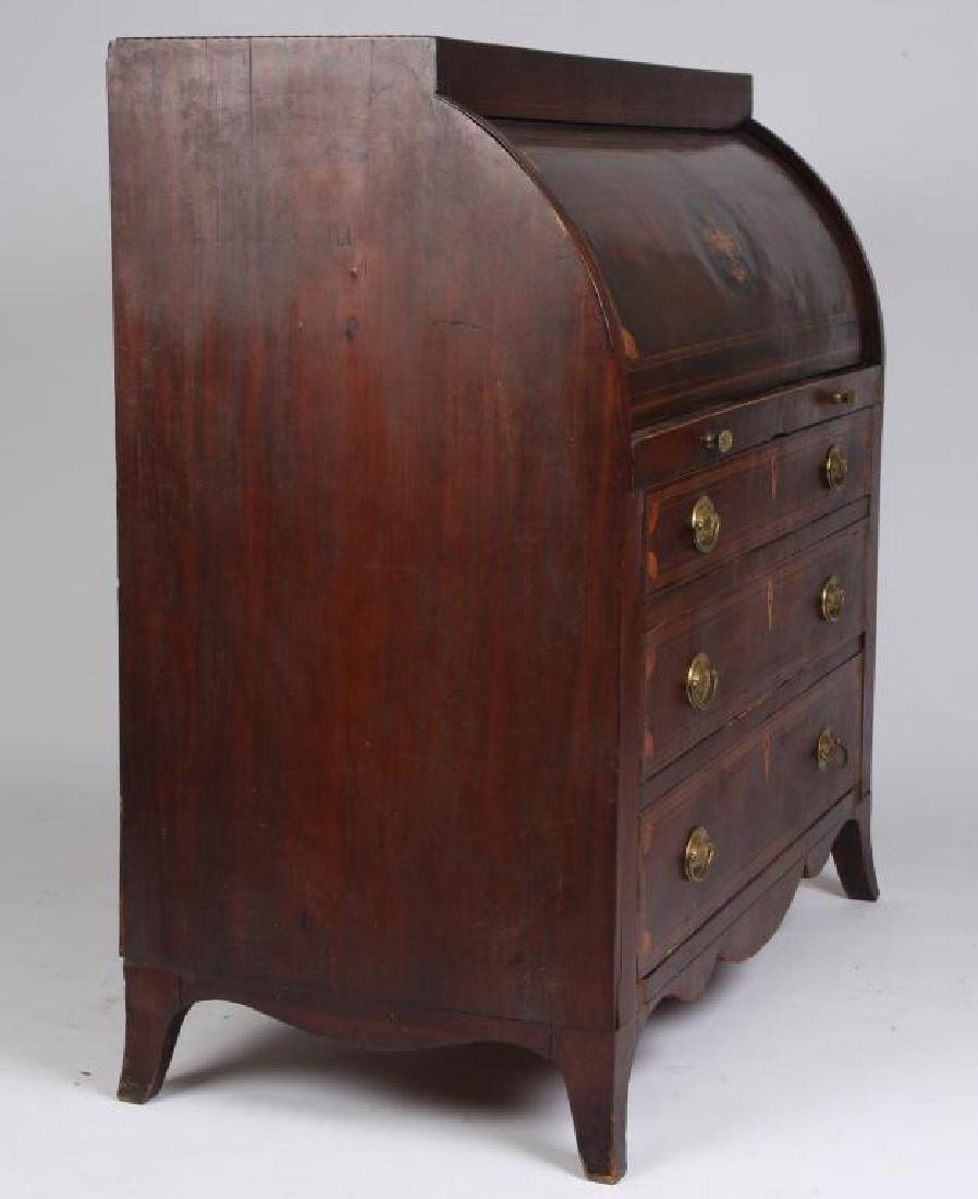 JAMES McHENRY IMPORTANT BALTIMORE CYLINDER DESK - 3