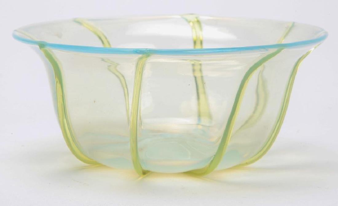 (2) FINE QUALITY ART GLASS BOWLS - 5