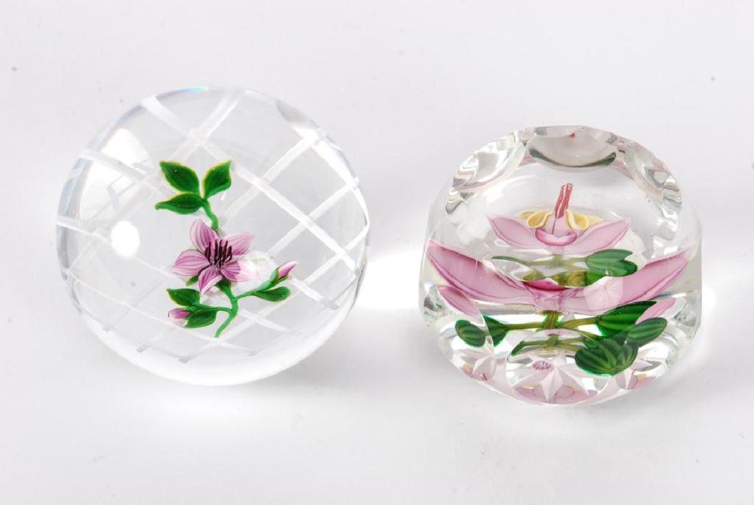 (2) SIGNED PAPERWEIGHTS - 5
