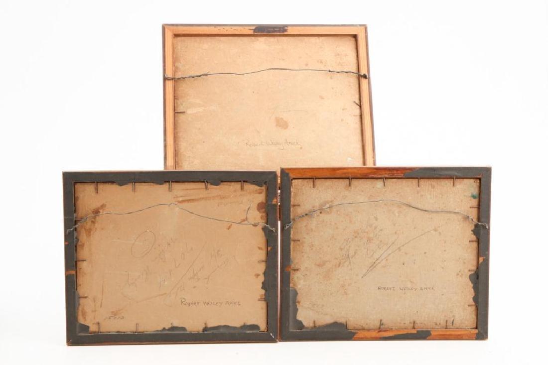 ROBERT WESLEY AMICK (1879-1969) THREE LANDSCAPES - 10