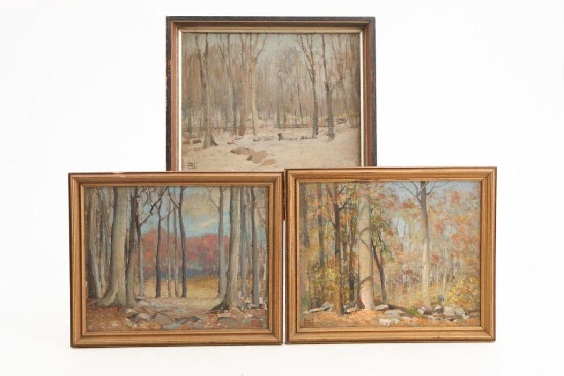 ROBERT WESLEY AMICK (1879-1969) THREE LANDSCAPES