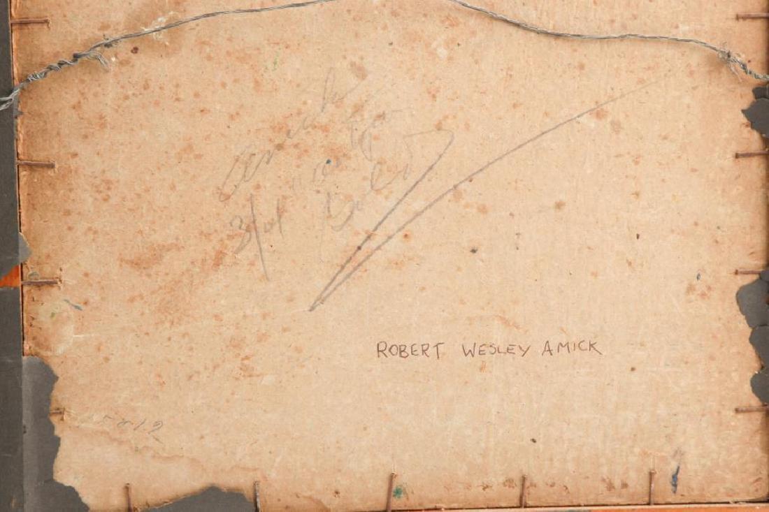 ROBERT WESLEY AMICK (1879-1969) THREE LANDSCAPES - 3