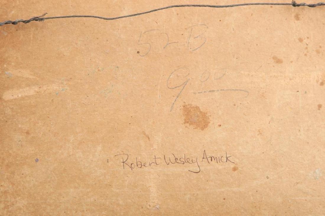 ROBERT WESLEY AMICK (1879-1969) THREE LANDSCAPES - 4