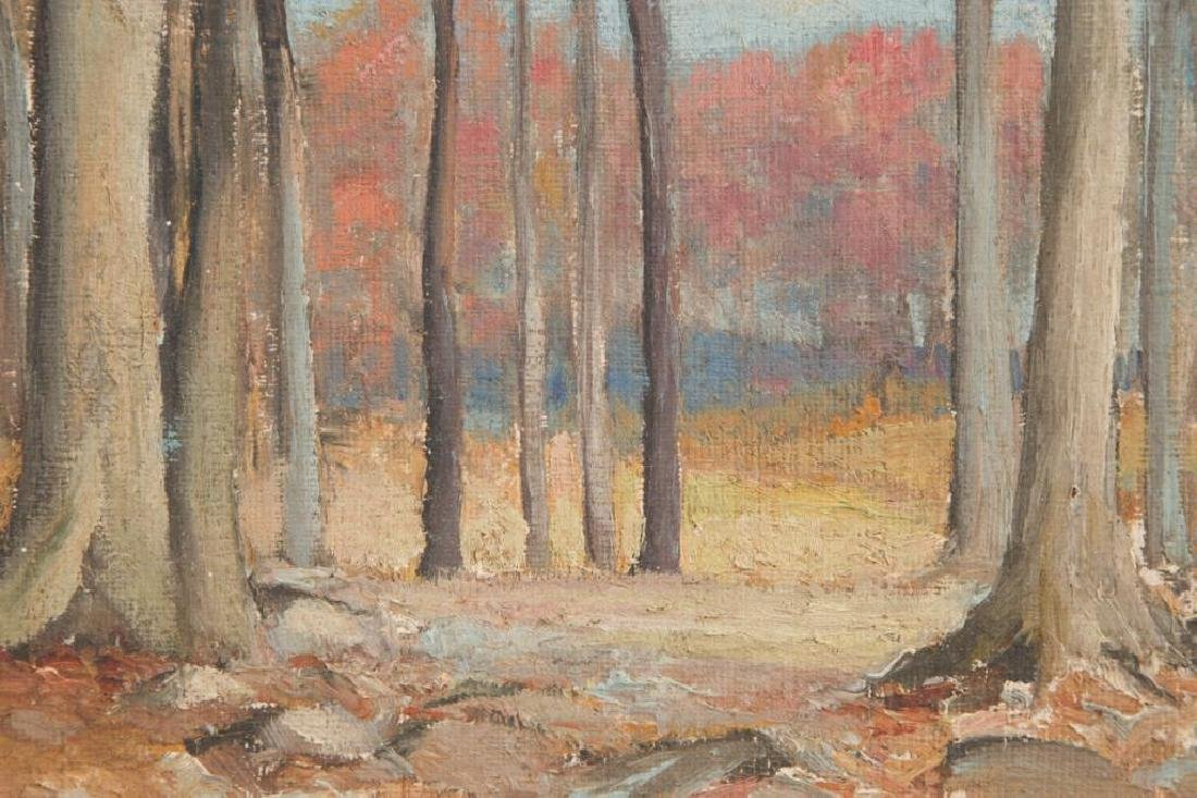 ROBERT WESLEY AMICK (1879-1969) THREE LANDSCAPES - 8