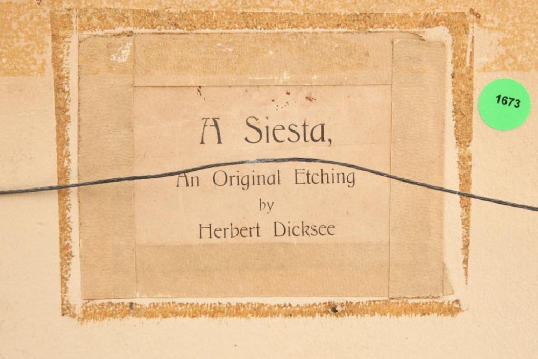 HERBERT DICKSEE (1862-1942) - 2