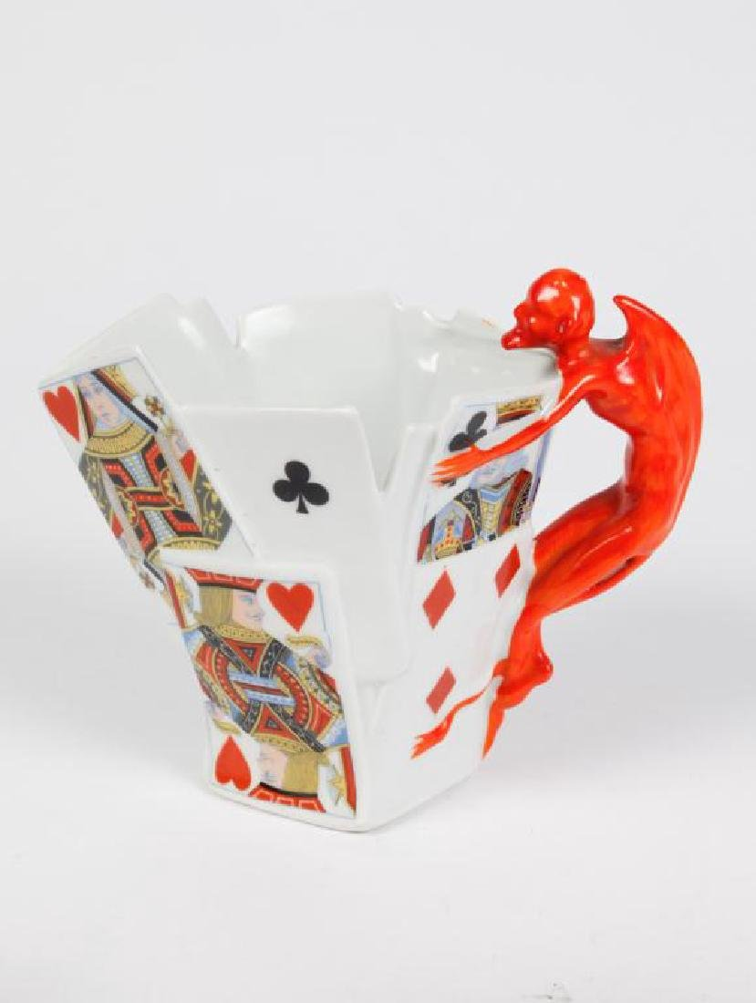 (3) ROYAL BAYREUTH PITCHERS / CREAMERS - 4