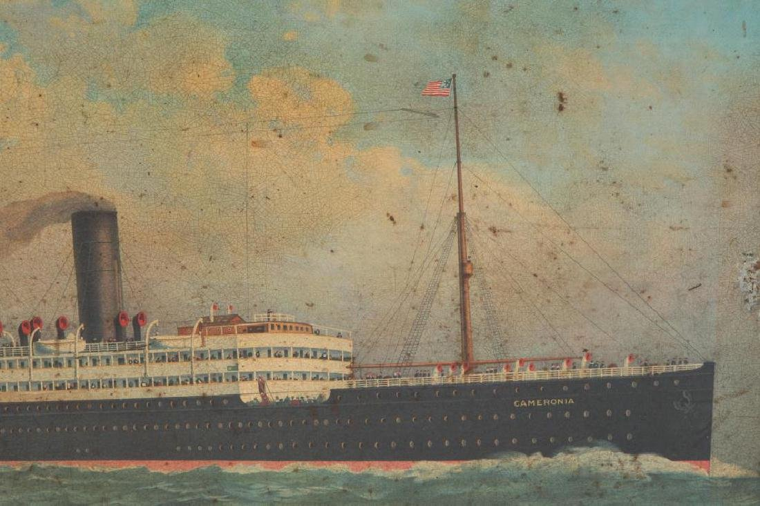 ANCHOR LINE STEAMSHIP ADVERTISING SIGN - 2