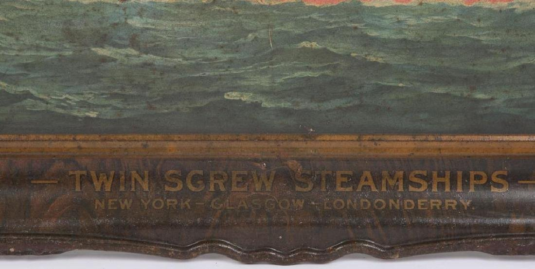 ANCHOR LINE STEAMSHIP ADVERTISING SIGN - 4