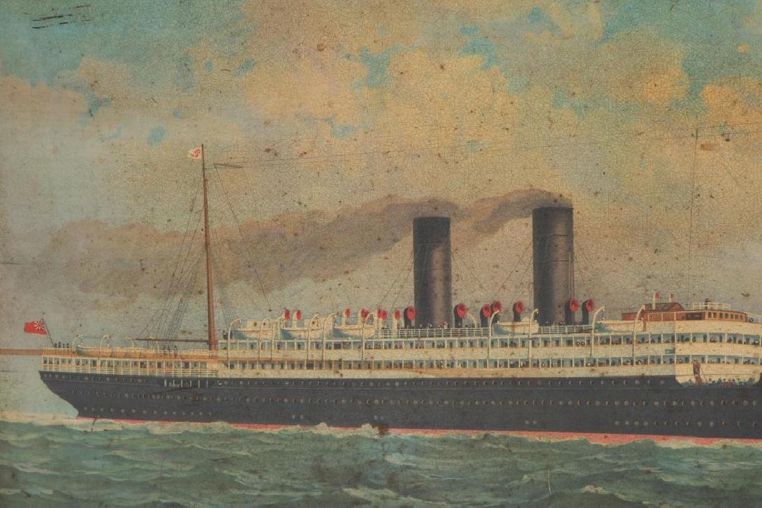 ANCHOR LINE STEAMSHIP ADVERTISING SIGN - 6