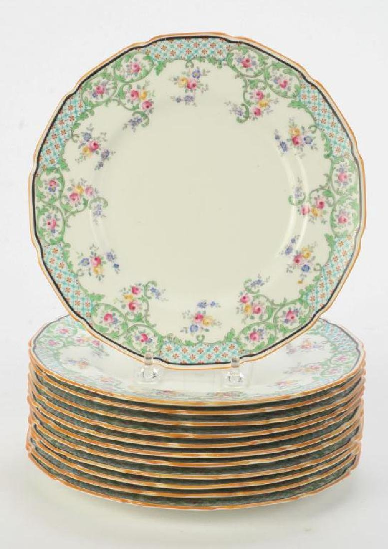 (12) ROYAL DOULTON LUNCHEON PLATES - 2