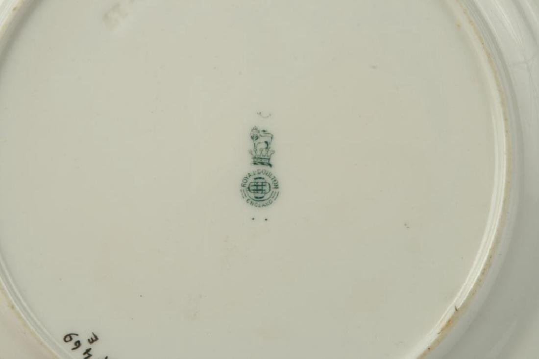 (12) ROYAL DOULTON LUNCHEON PLATES - 4